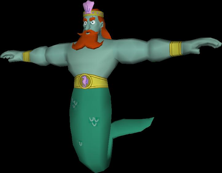 Mythology Clipart King Neptune Spongebob T Pose Png Transparent Png Full Size Clipart 1393800 Pinclipart