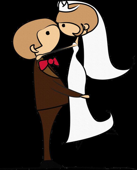 Прикольные свадебные рисунки