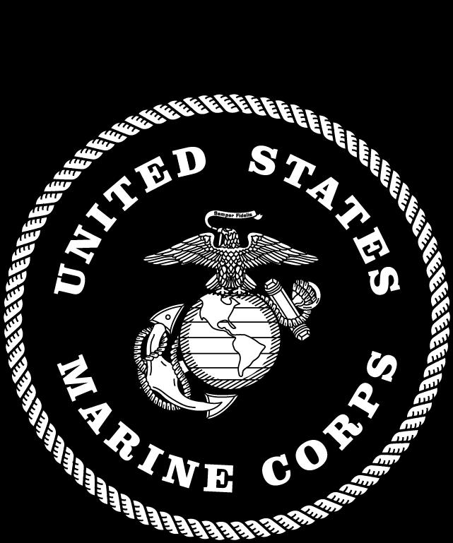 graphic regarding Printable Marine Corps Emblem identify Maritime Corps Emblem - United Suggests Maritime Corps Emblem Black