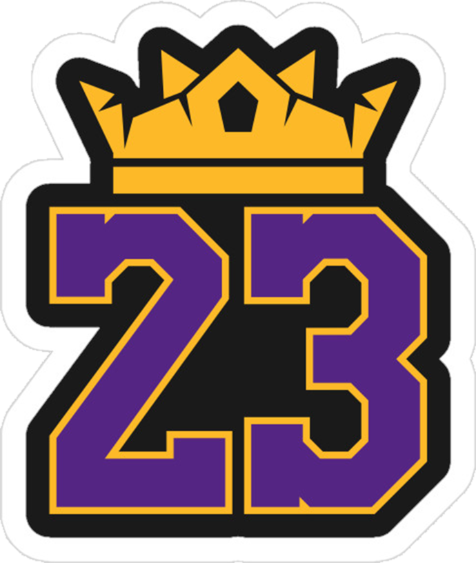 Lebron James Svg File La Lakers Svg File Nba Lebron Lebron James 23 Logo Lakers Clipart Full Size Clipart 1449106 Pinclipart