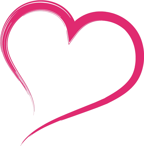 Heart Outline - Clipartion.com |Pink Heart Outline Clipart
