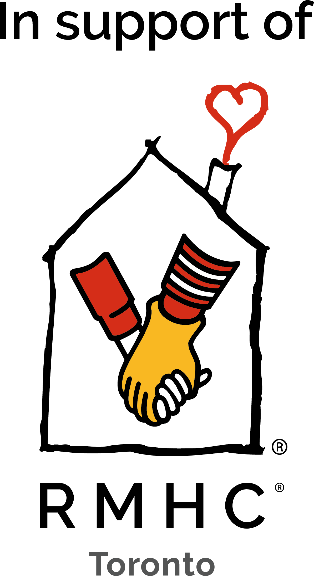 Whiterose Janitorial Services Ltd - Ronald Mcdonald House Charities Canada Clipart (1210x2207), Png Download