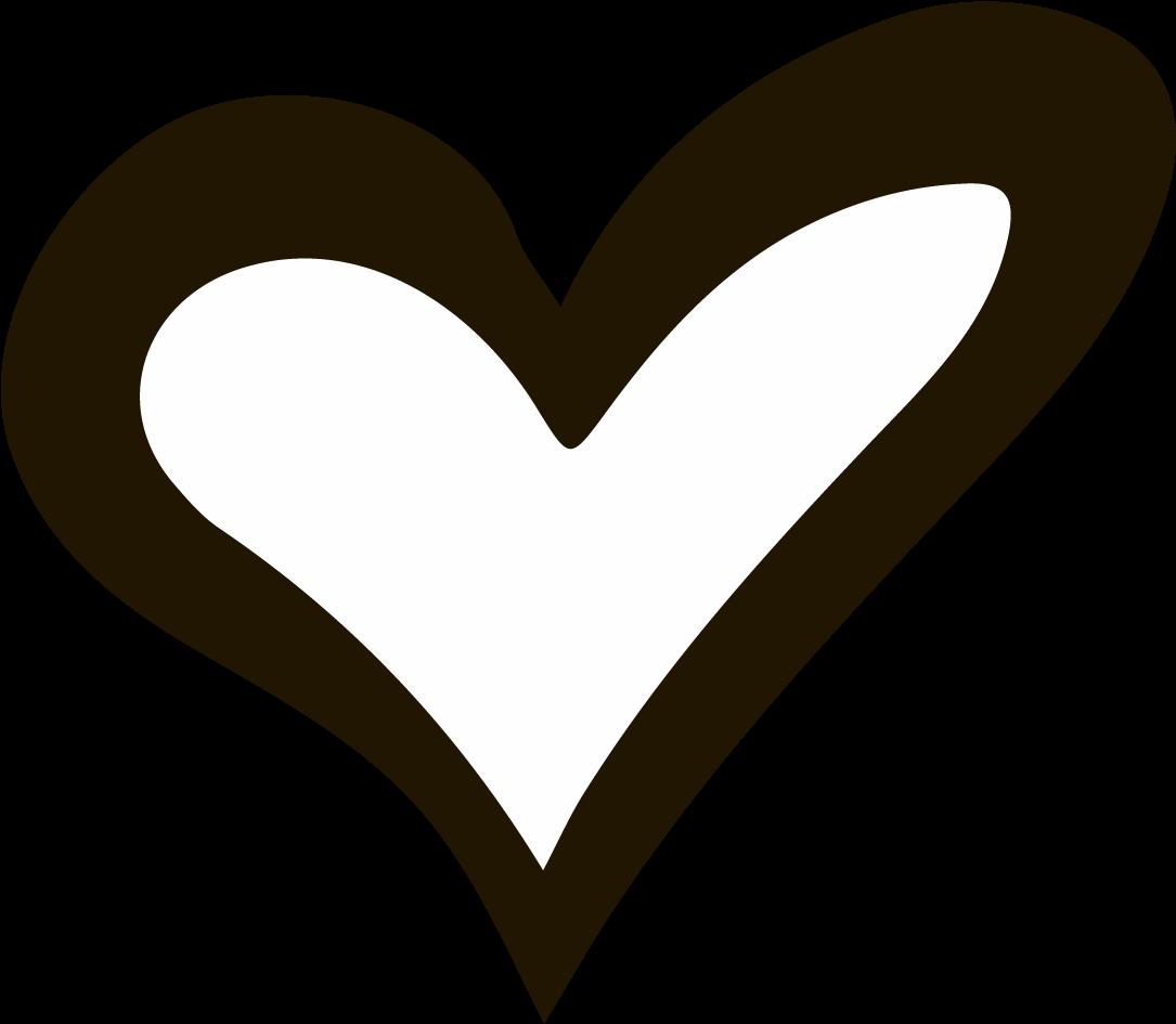 Clip Art Drawn Hearts - Love Heart Hand Drawn - Png ...
