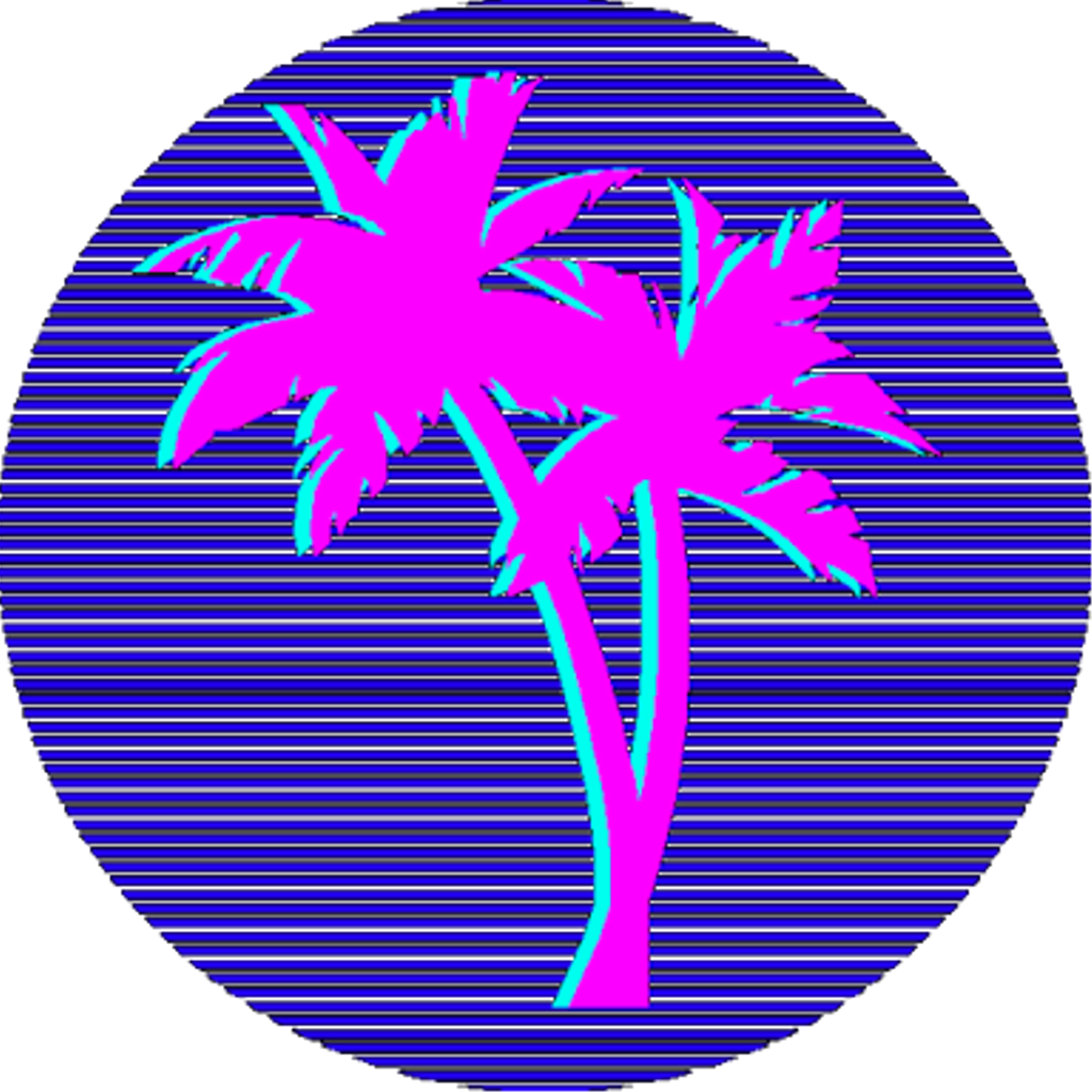 Vapor Grunge Palmtree Vaporwave Vaporwaveaesthetic Vaporwave Png Clipart Full Size Clipart 1550479 Pinclipart