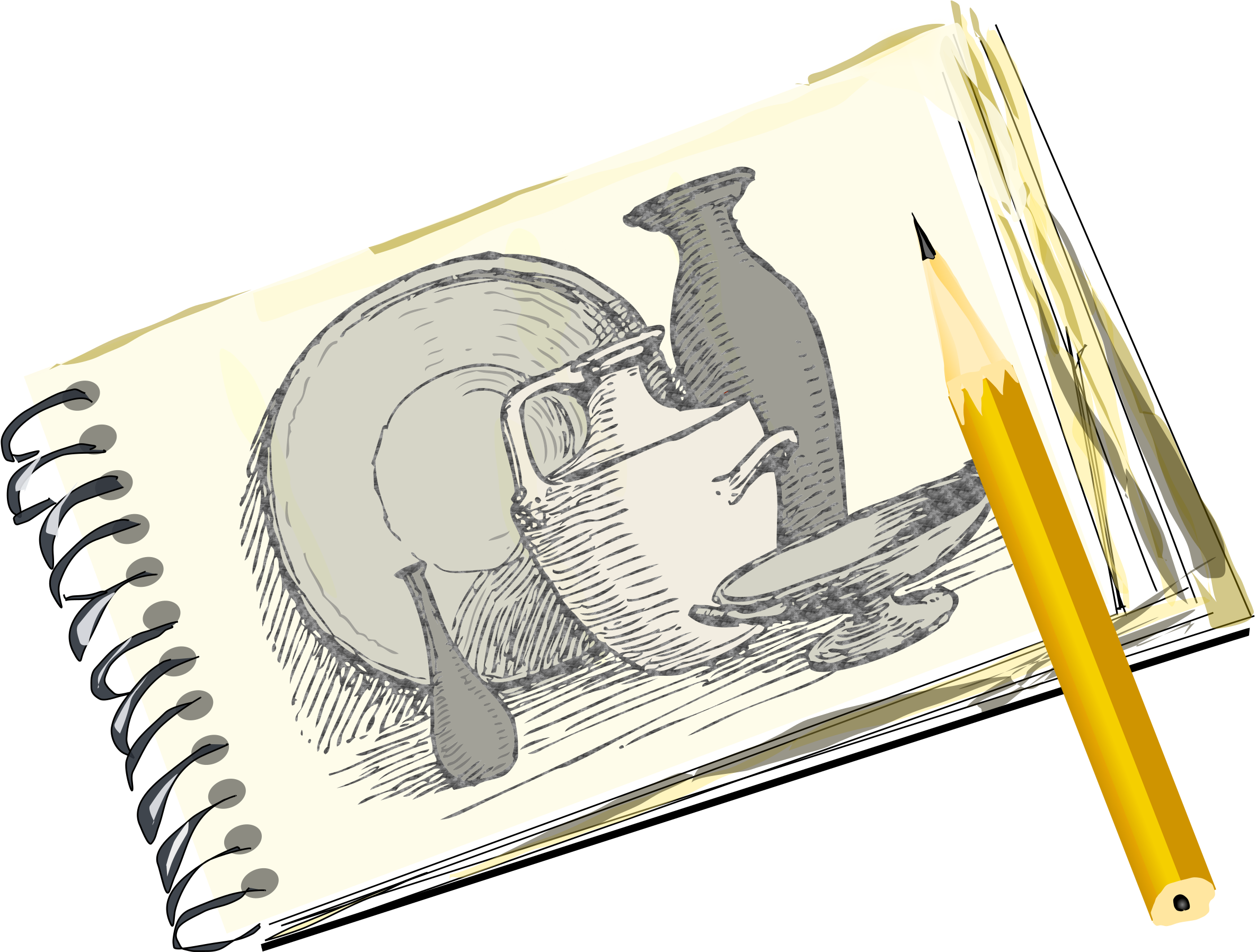 Clipart With Still Life Free Size Of Small Sketch Pad Png Download Full Size Clipart 1566614 Pinclipart