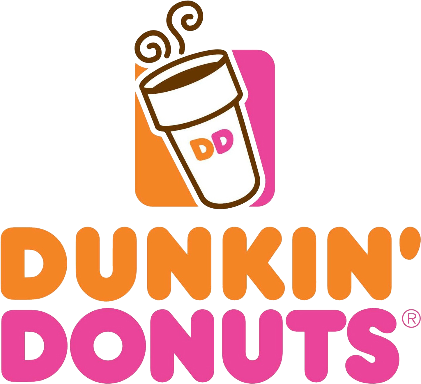 Dunkin Donuts Logo Png Clipart - Full Size Clipart ...