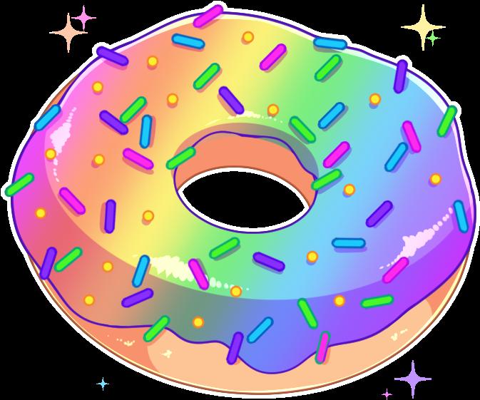 2 Jun - Donut Aesthetic Transparent Png Clipart - Full ... (673 x 561 Pixel)