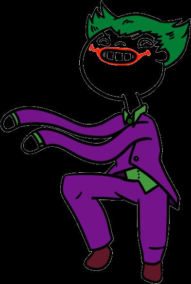 Joker Dance By Hollanator3000 On Deviantart Png Black Joker Gif No Background Clipart Full Size Clipart 1583408 Pinclipart