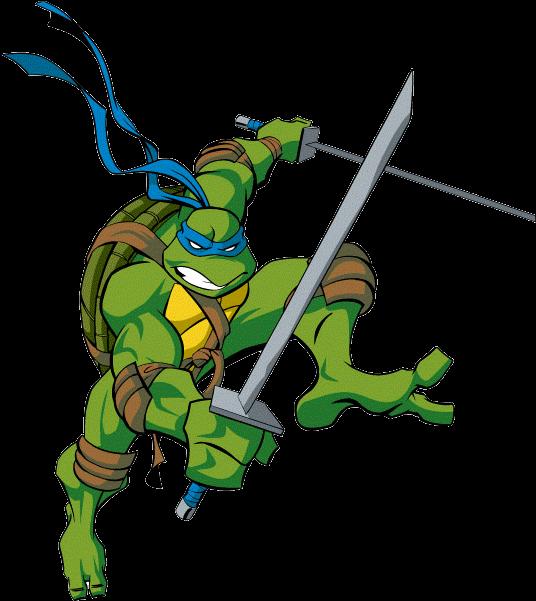Leonardo Ninja Turtle Teenage Mutant Ninja Turtles Clipart