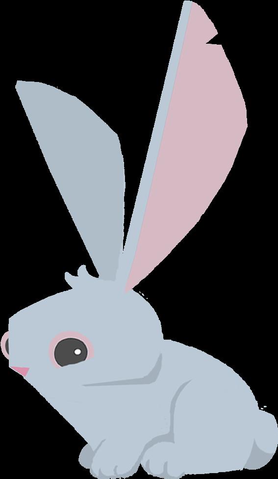Arctic Hare Clipart Transparent - Animal Jam Beta Bunny ...