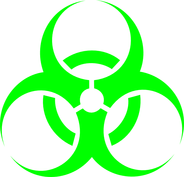 Green Biohazard Symbol Png Clipart - Full Size Clipart ...
