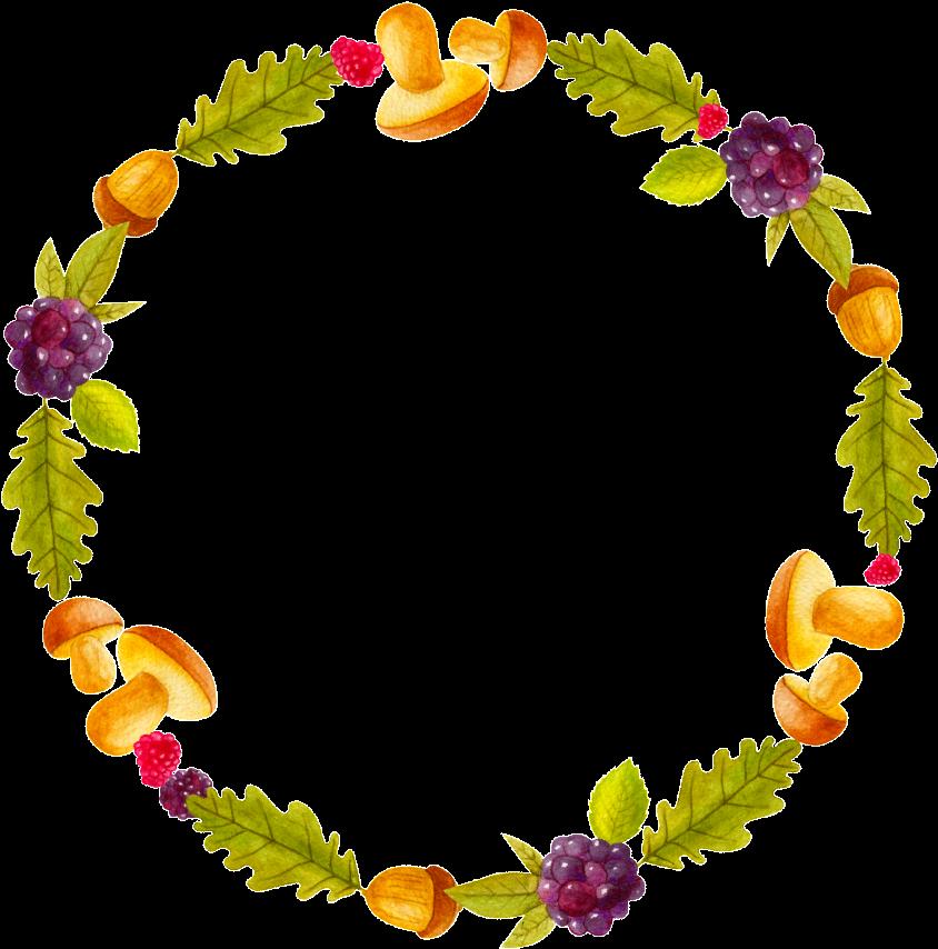 Cartoon Cute Fruit Vegetable Ring Transparent - Fruit ...