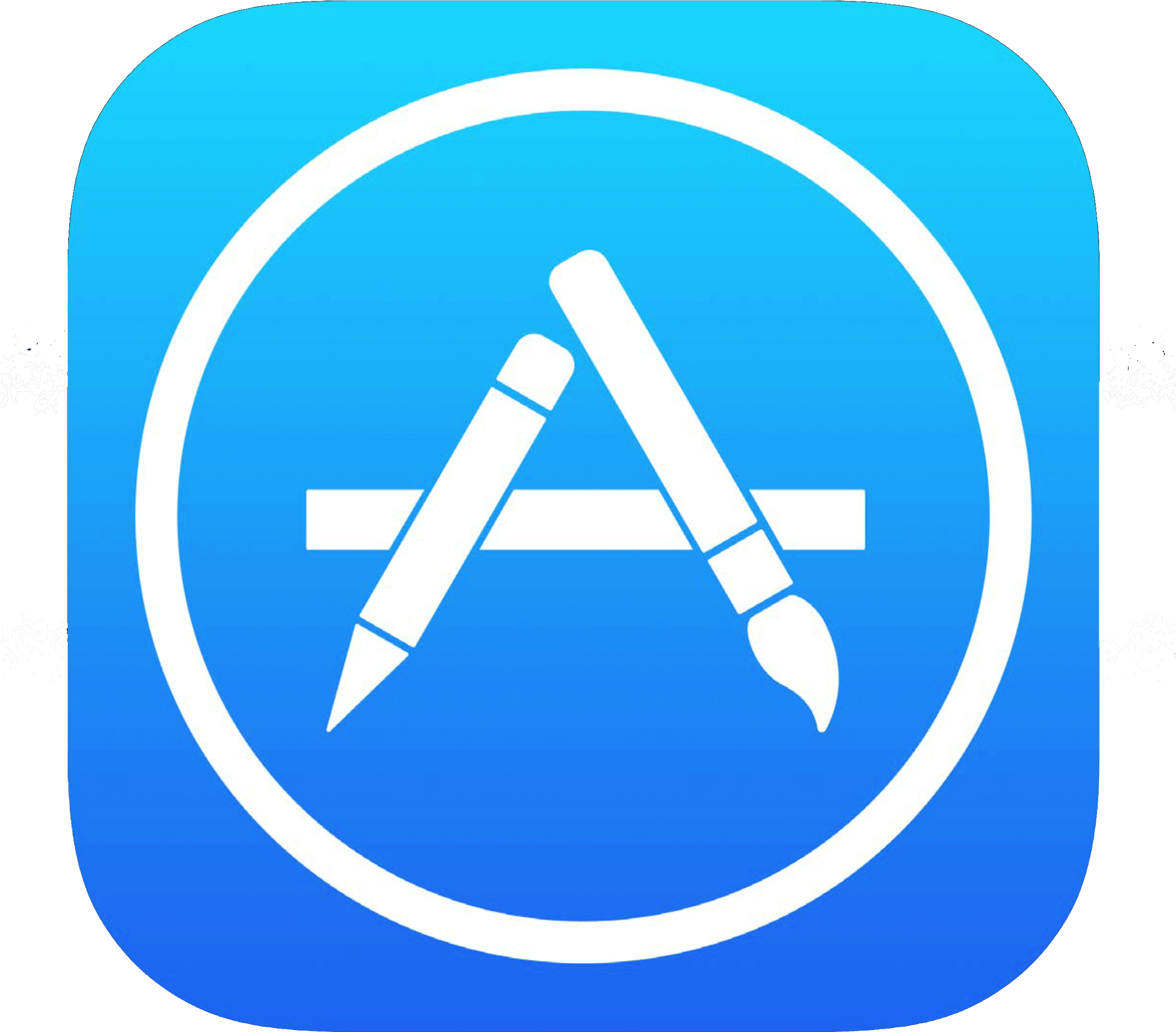 Ios - Transparent App Store Icon Clipart (2431x2460), Png Download