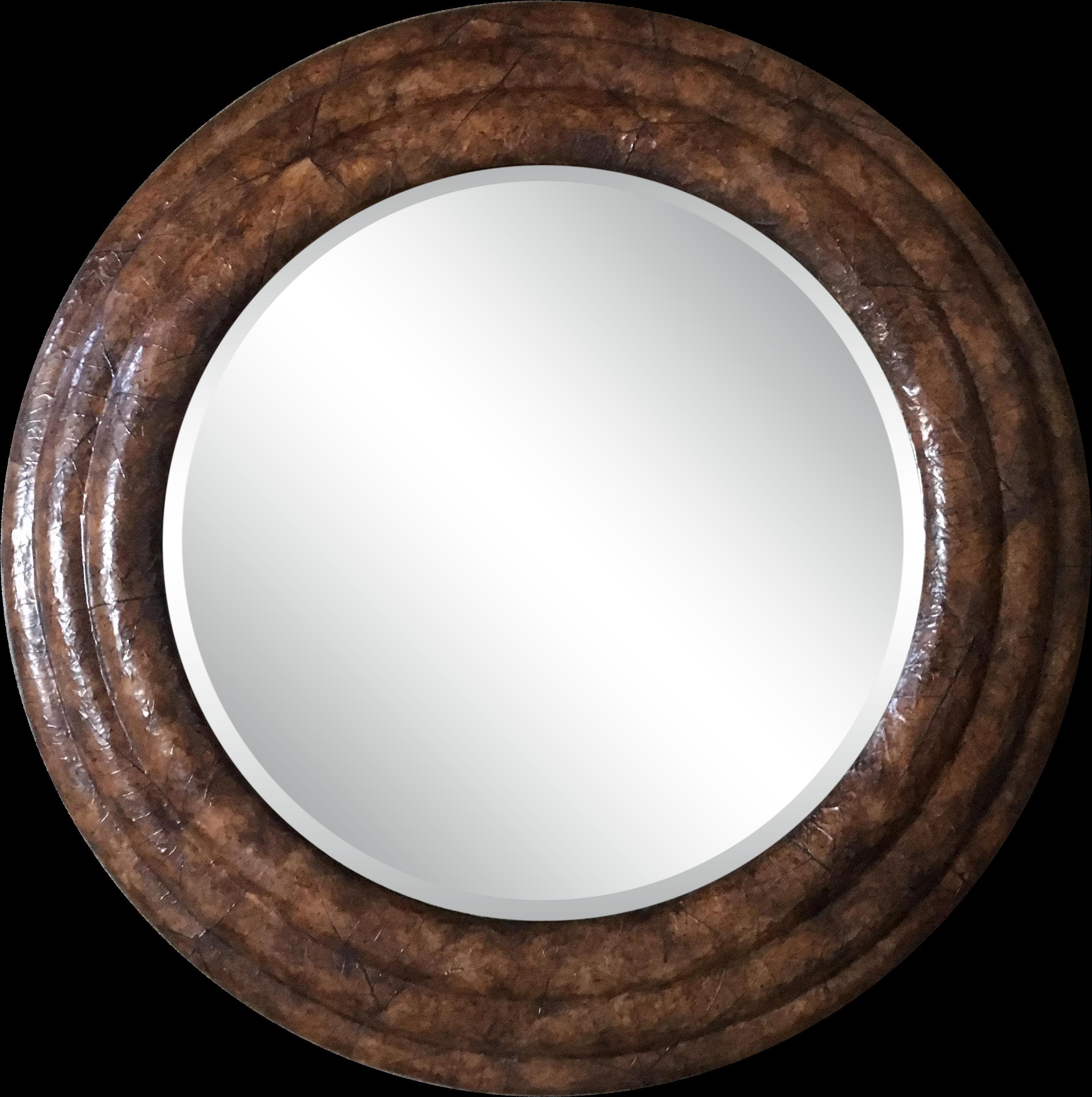 круглое зеркало в деревянной раме купить Clipart Full Size