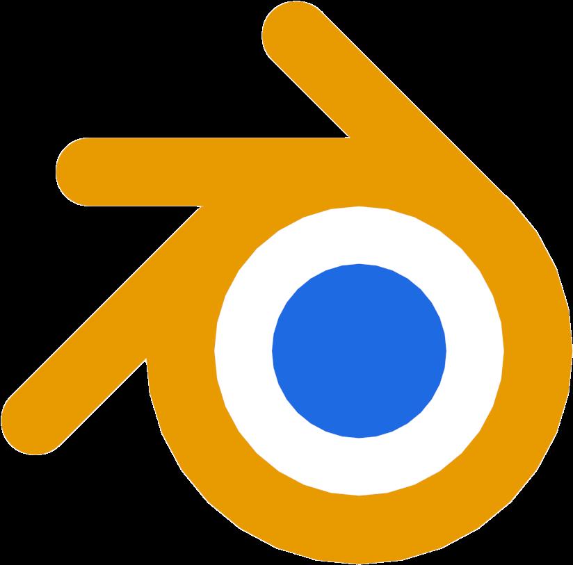 Blender - 3d Blender Logo Png Clipart - Full Size Clipart