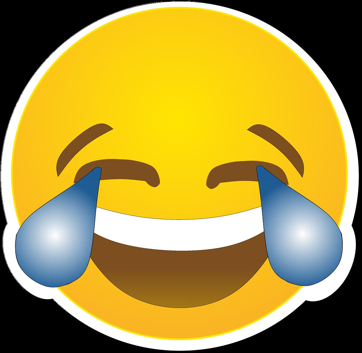 Funny Laughing Face Cartoon 2, Buy Clip Art - Emoji De ...