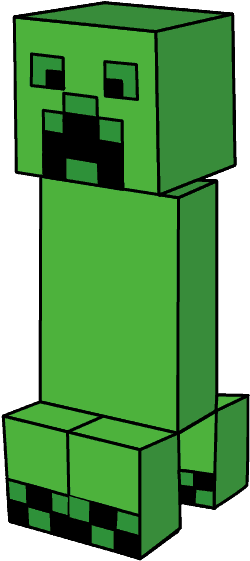 How To Draw Minecraft Creeper Drawing Clipart Full Size Clipart 1712223 Pinclipart