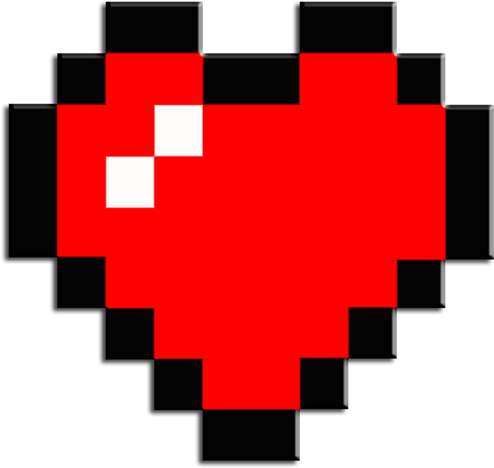 Mc Minecraft Mine Craft Steve Skin Alex Bw Bedwars Zelda Heart Png Clipart Full Size Clipart 1740883 Pinclipart