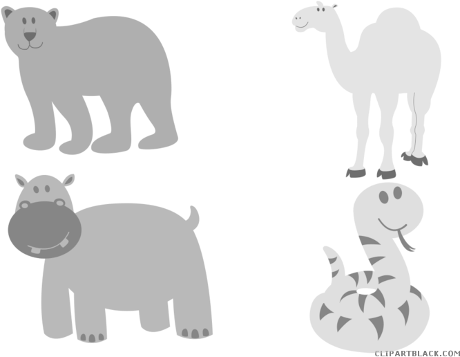 Baby Snake Animal Free Black White Clipart Images Clipartblack