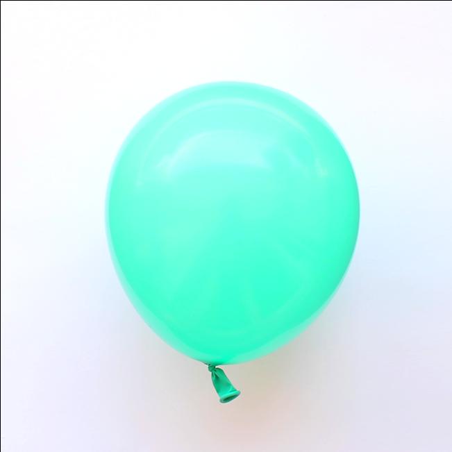 8 Ballons Vert D Eau Balloon Clipart Full Size Clipart 1748929 Pinclipart
