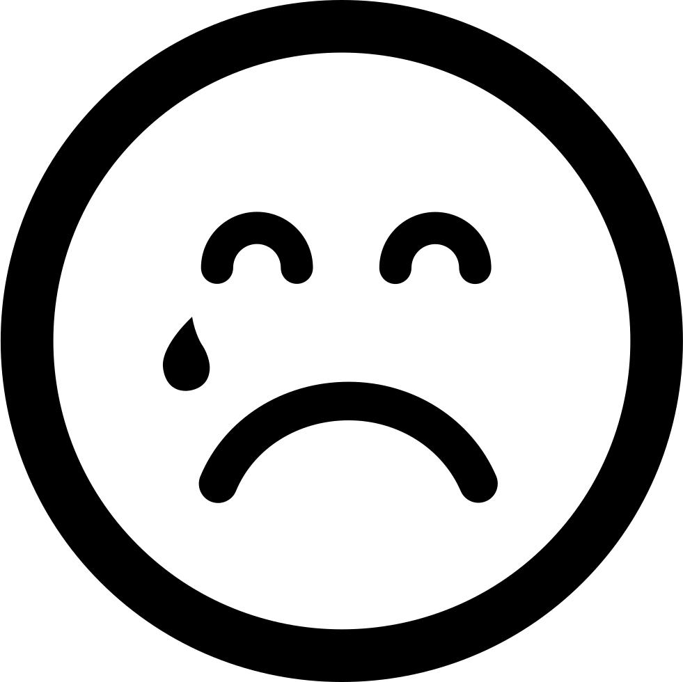 sad emoticon on facebook - HD