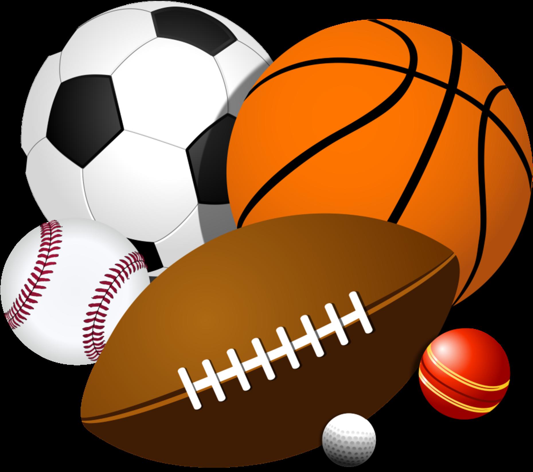 Sports - Sport Balls Clipart - Full Size Clipart (#189306) - PinClipart