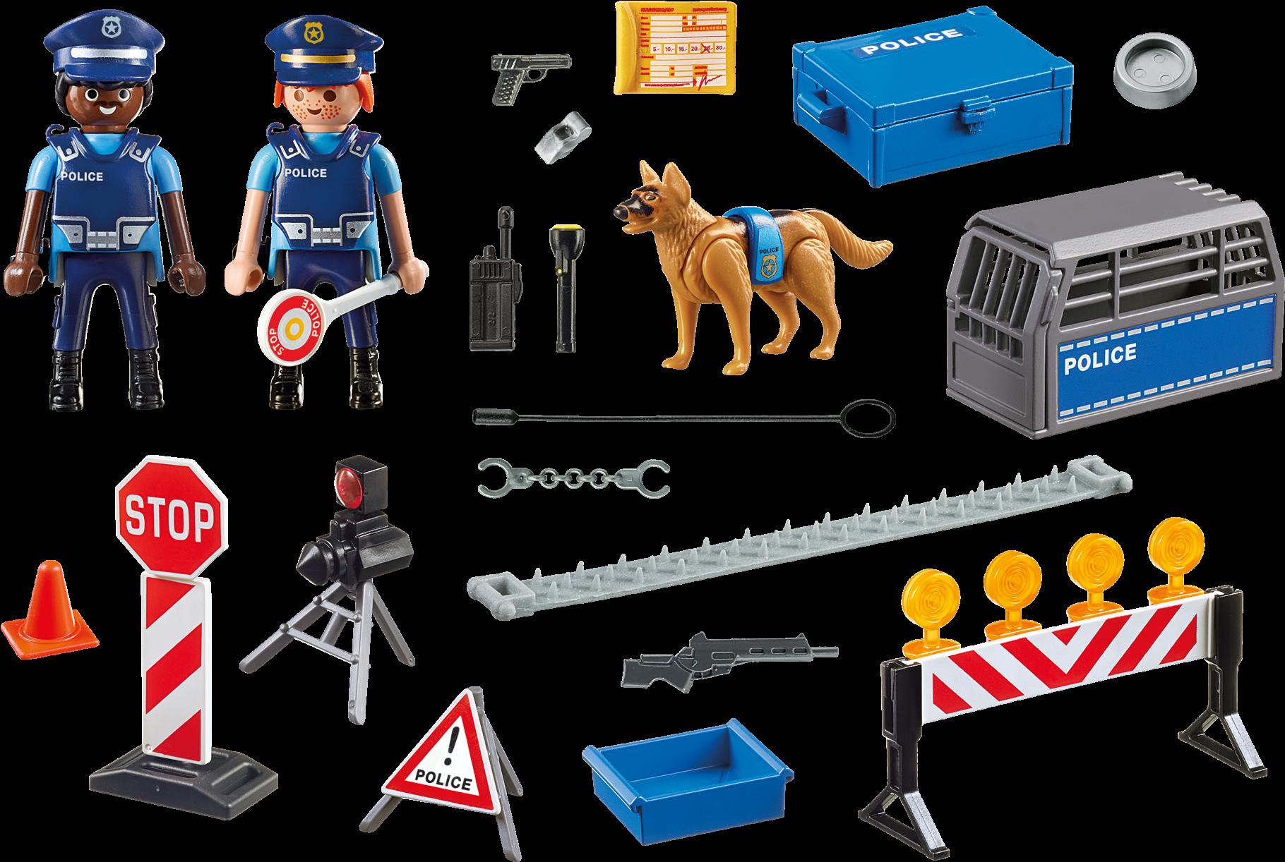 Playmobil 6924 Police Roadblock