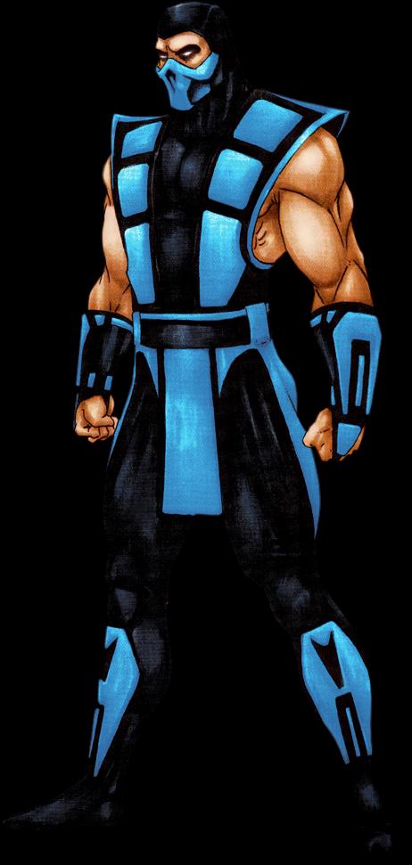 My Fave Sub Zero Scorpion Ultimate Mortal Kombat 3 Clipart