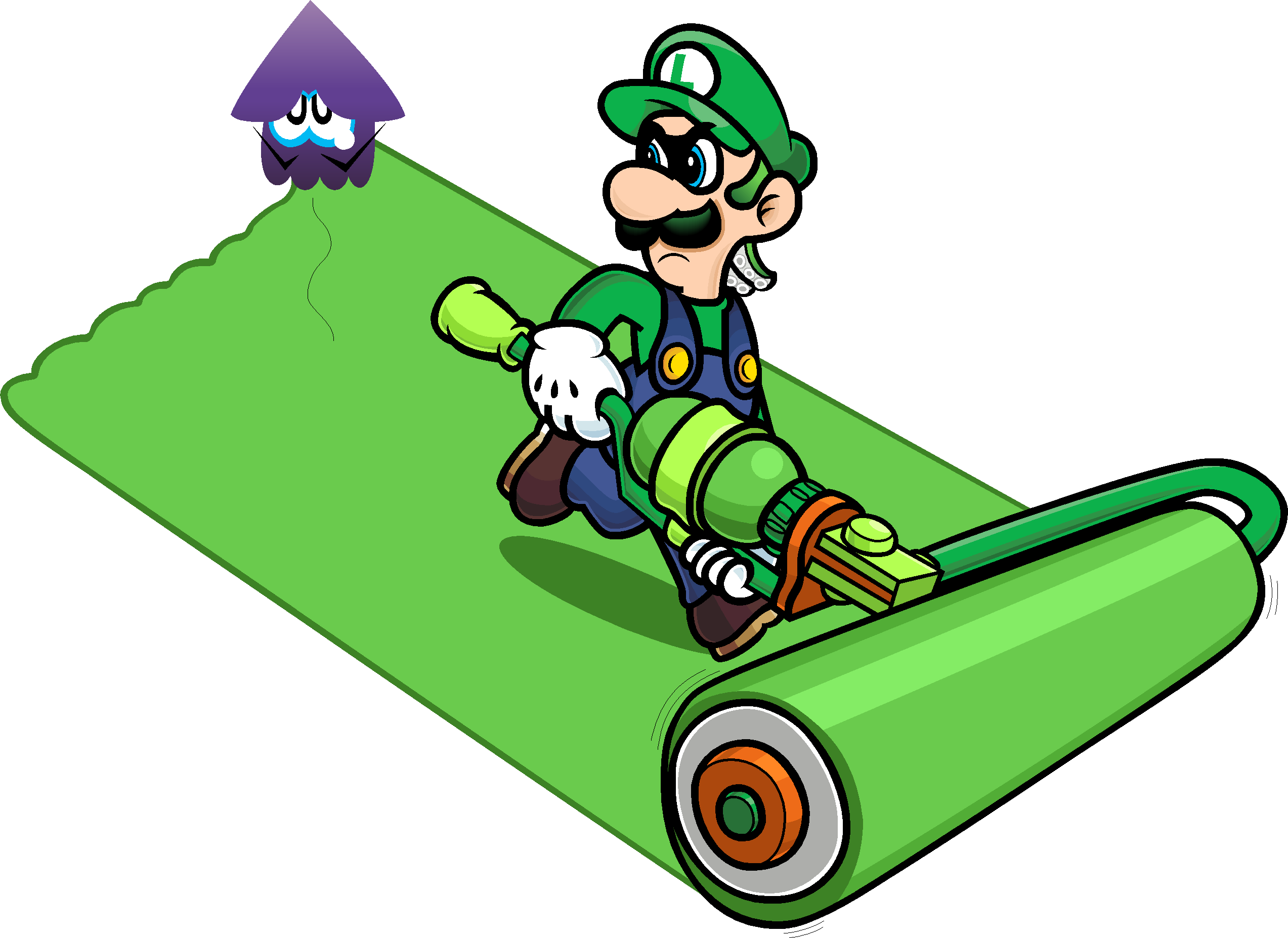 Mario Mario Luigi Green Clip Art Product Luigi Death Stare