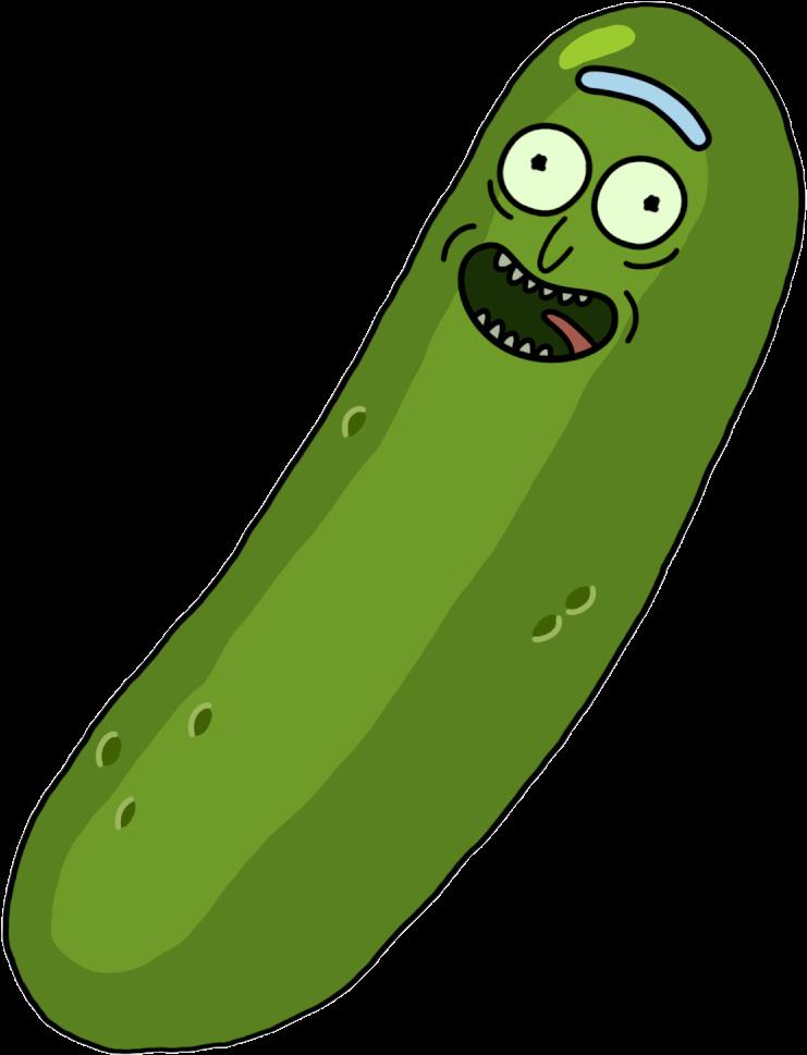 Rickandmorty Picklerick1500 Gif - Pickle Rick Emoji Discord Clipart