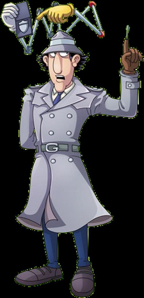Inspector Gadget On The Job - Gadgets Del Inspector Gadget ...