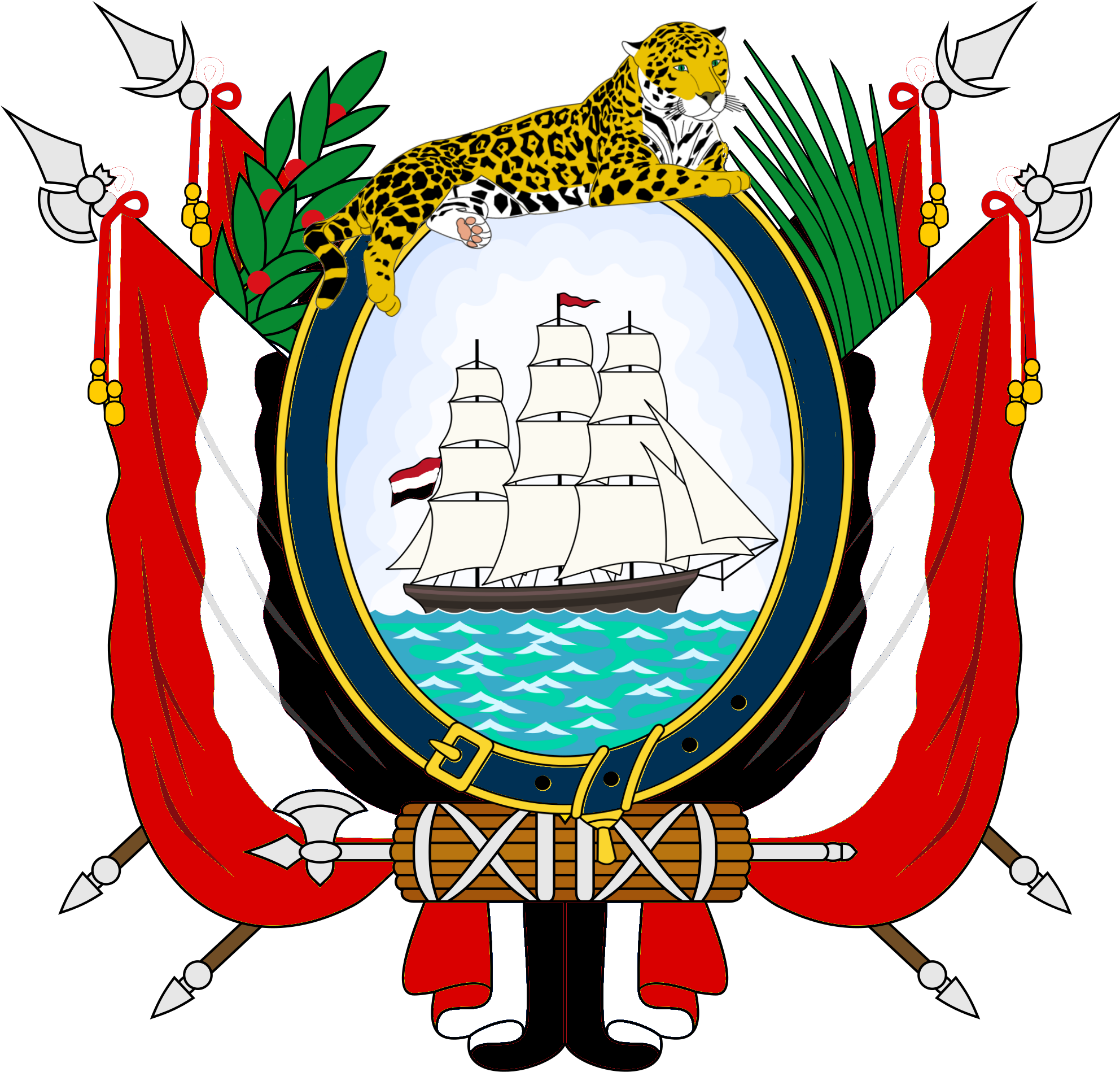 Coat of arms american. Png transparent library guayana