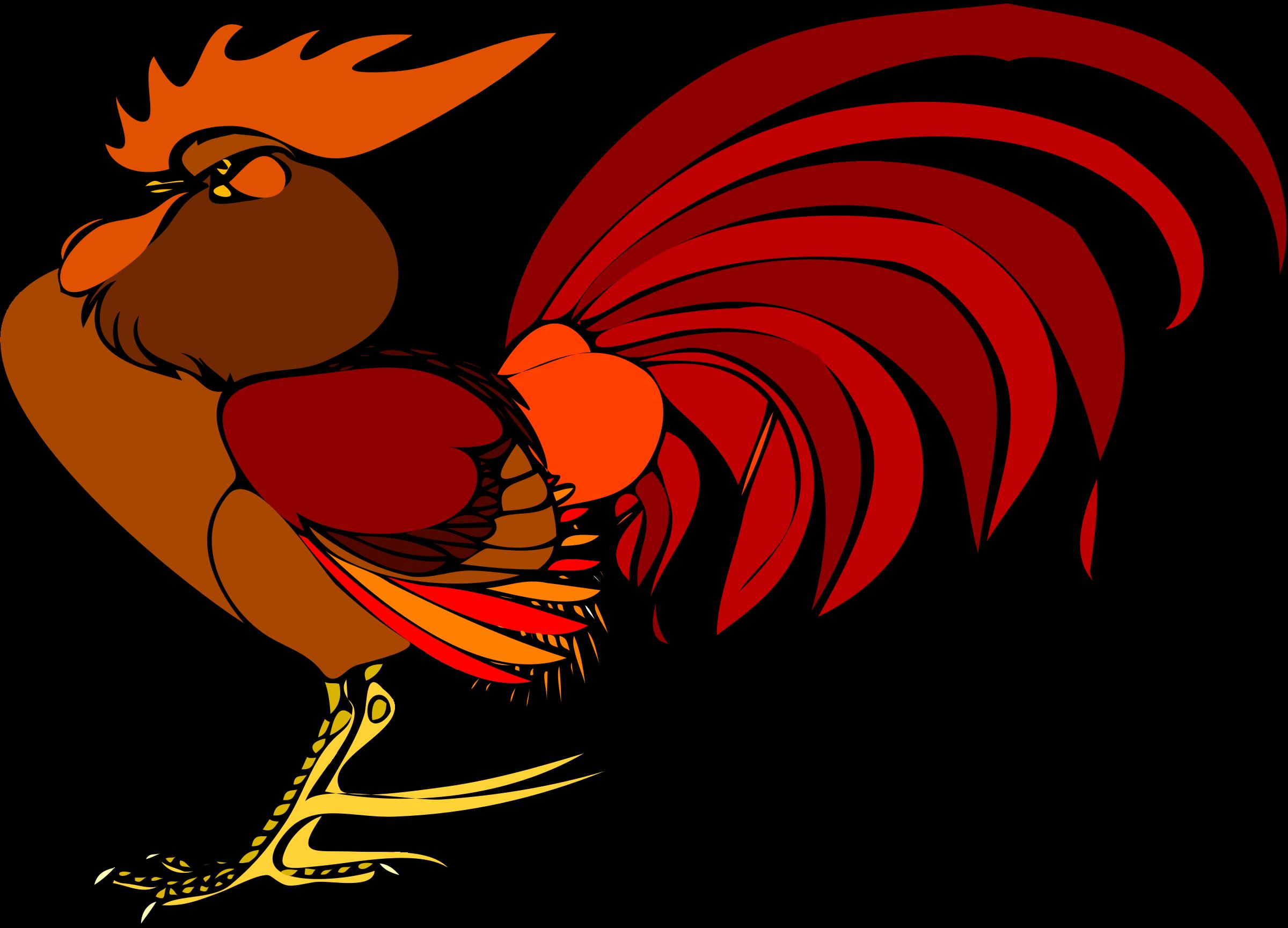 Big Image Gambar Animasi Ayam Jantan Clipart Full Size