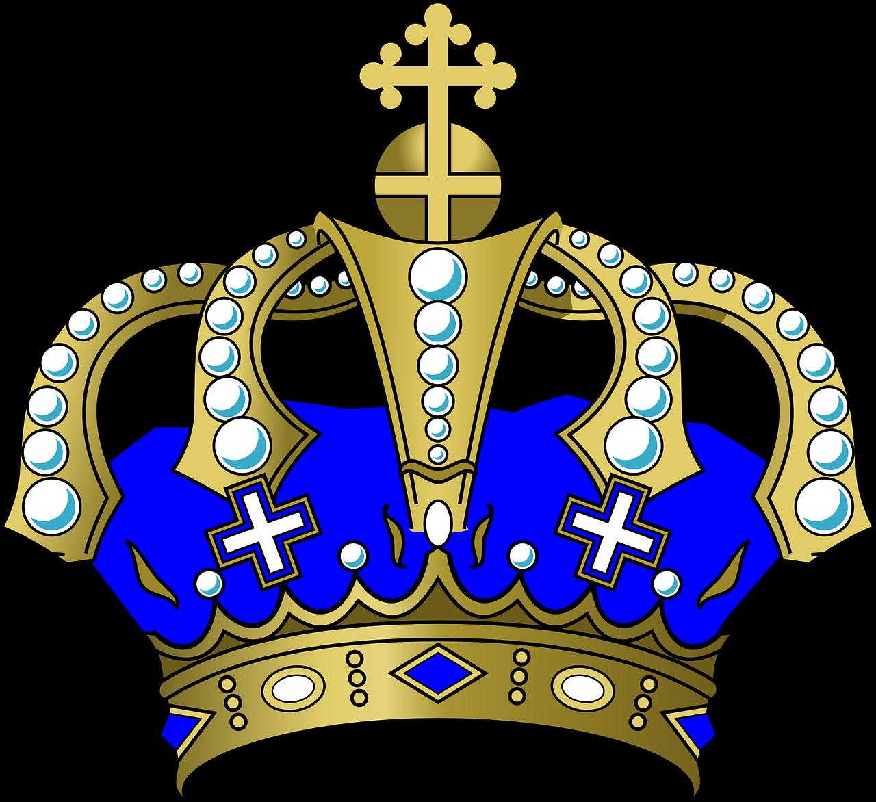 Royal Blue Crown Clipart - Full Size Clipart (#1918488 ... (1280 x 1172 Pixel)