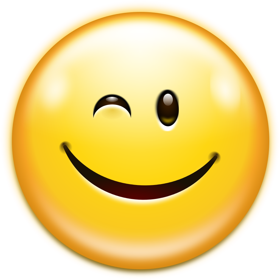 File Oxygen480 Emotes Face Wink Svg Wikimedia Commons
