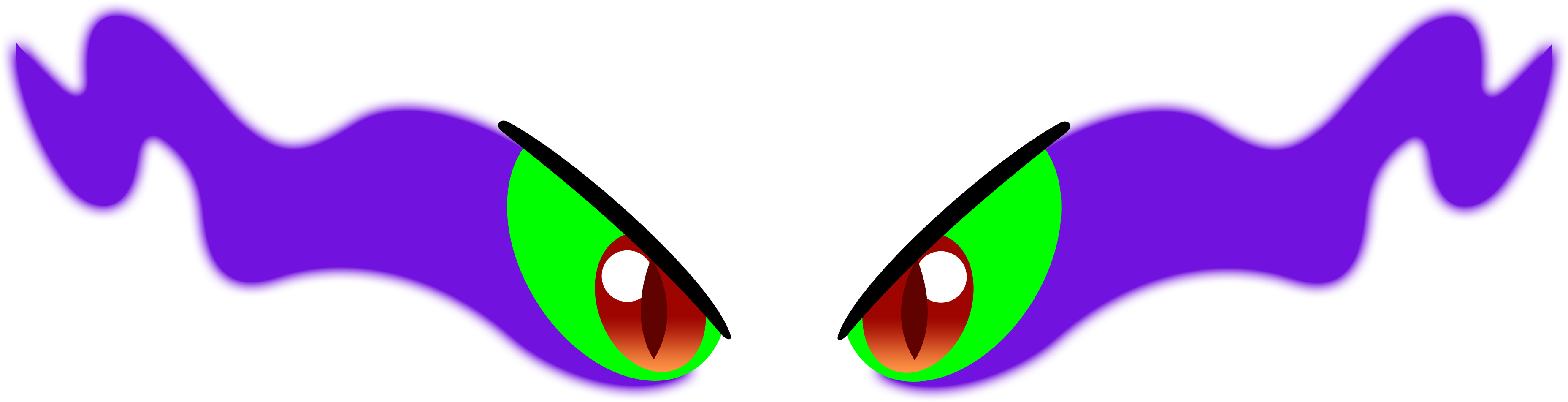 The Gallery For > Evil Eyes Png King Sombra Eyes Vector ...