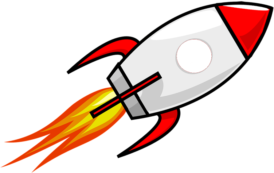 Cartoon Rocket Clipart