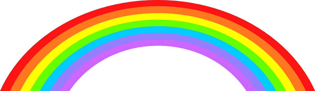 Rainbow Background Clip Art Vectors Download Free Vector Rainbow Clipart Png Transparent Png Full Size Clipart 22445 Pinclipart