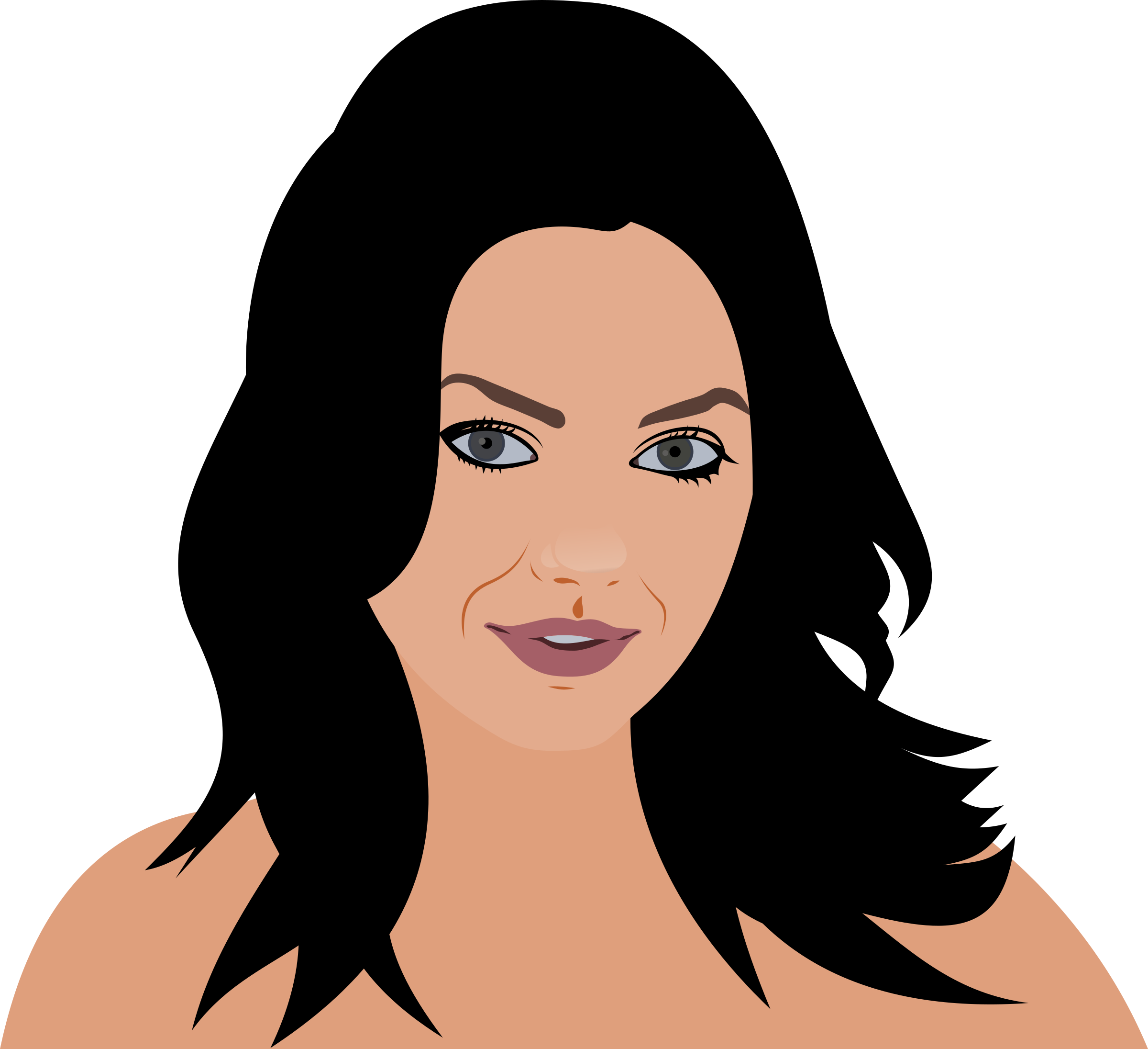 Yukle Clipart Mila Kunis Vector Png Download Full Size Clipart 202118 Pinclipart