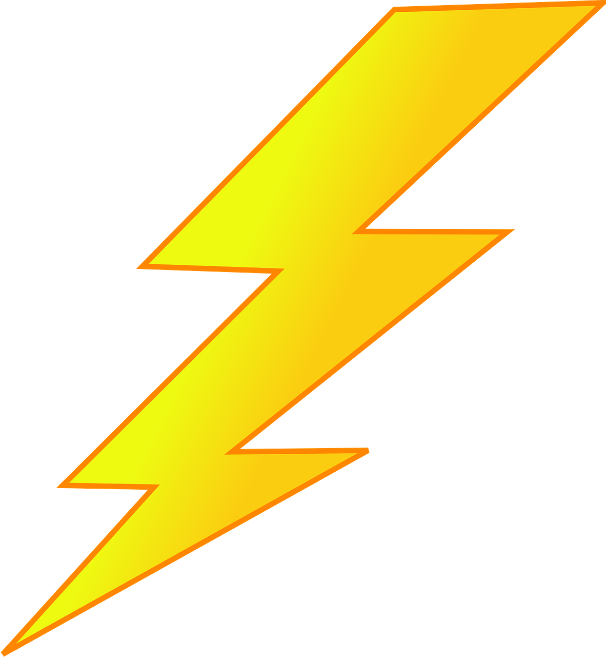 Graphic Royalty Free Lighting Bolt Picture Transparent Background Lightning Clipart Png Full Size Clipart 204097 Pinclipart