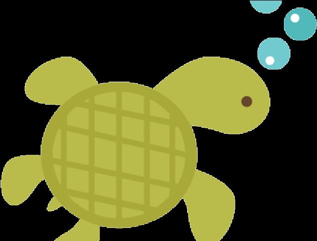 Sea Turtle Clipart Underwater Cartoon Transparent Sea Turtles