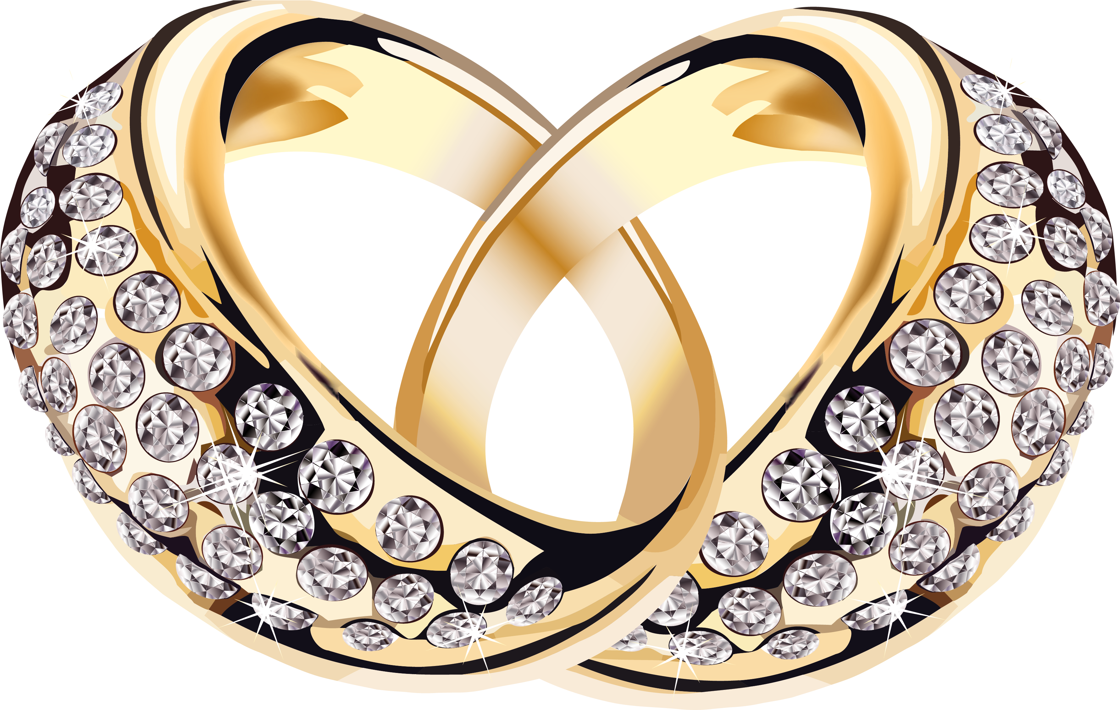 Transparent Background Wedding Ring Clipart Png - Wedding ...