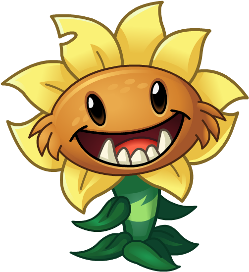 Primal Sunflower Gallery Plants Vs Zombies 2 Plantas Clipart Full Size Clipart 2009191 Pinclipart