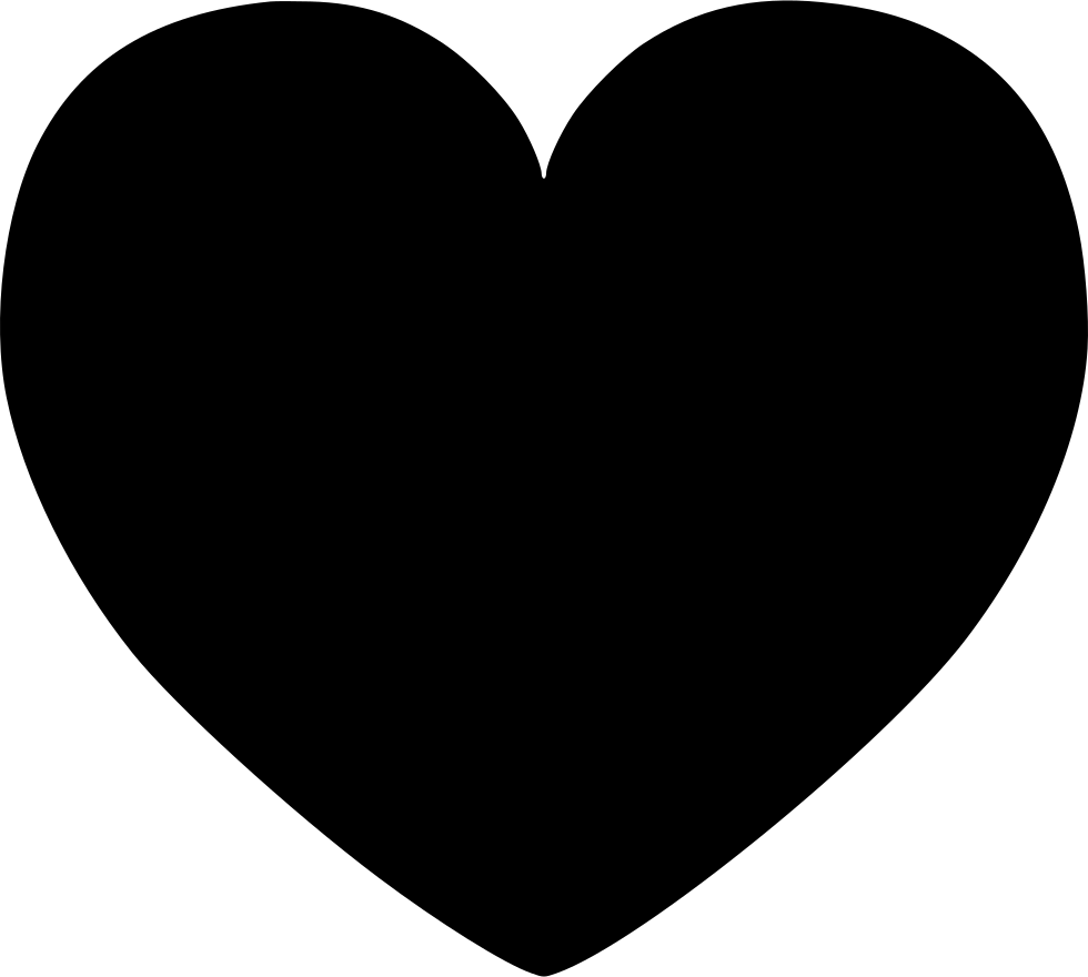 Hart Comments - Black Heart Clipart Transparent - Png ...