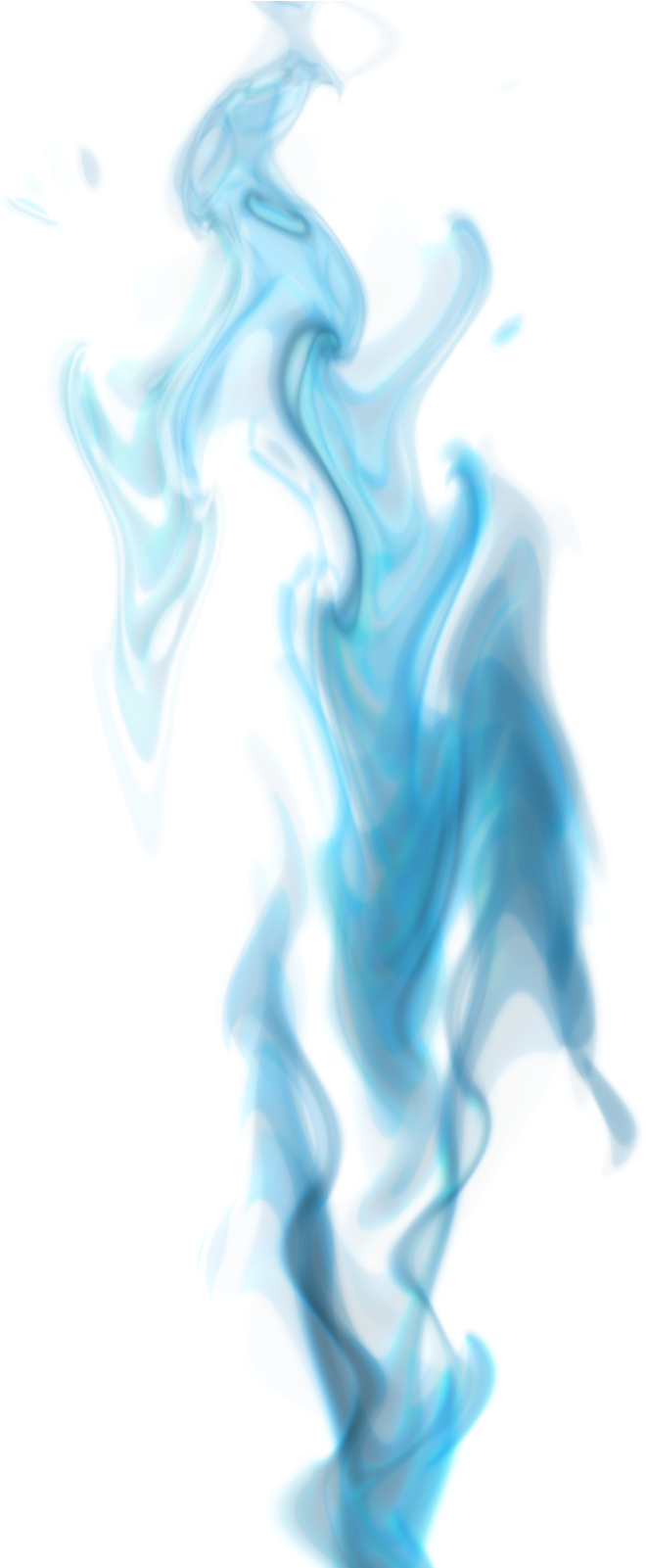 Download Smoke Fire Png Jpg Library Library - Blue Fire ...