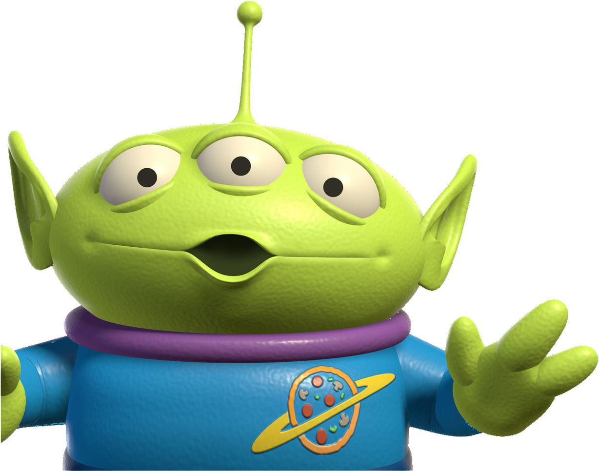 Every Single Thing Alien Toy Story Characters Clipart Full Size Clipart 2094810 Pinclipart