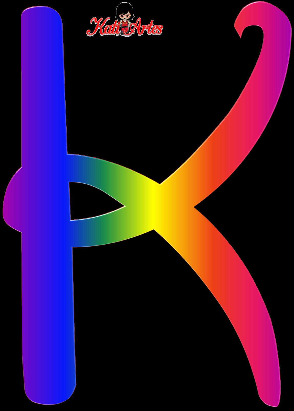 Alfabeto Tipo Disney De Colores Letra K Disney Clipart