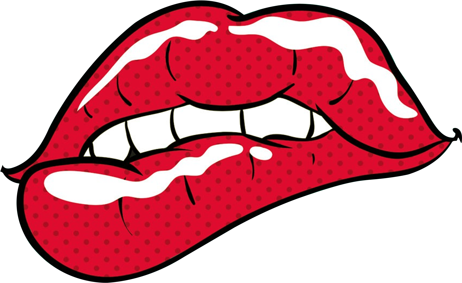 Download Pop Art Lips Clipart Full Size Clipart 2102638 Pinclipart
