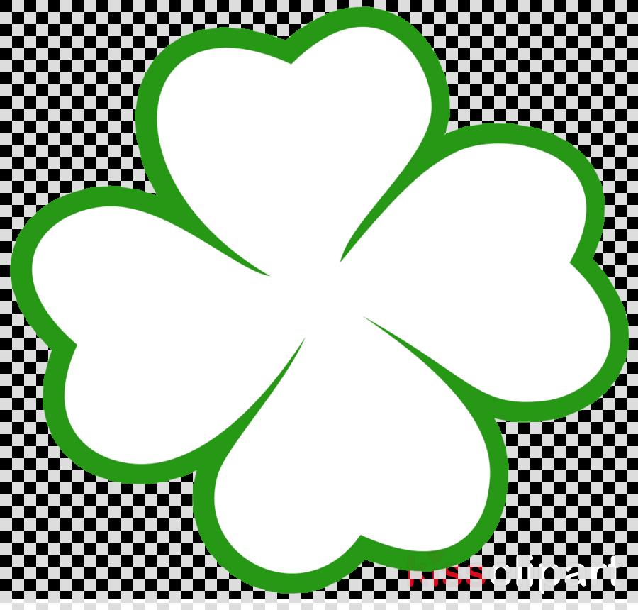 Trebol De 4 Hojas Clipart Four-leaf Clover Drawing ...