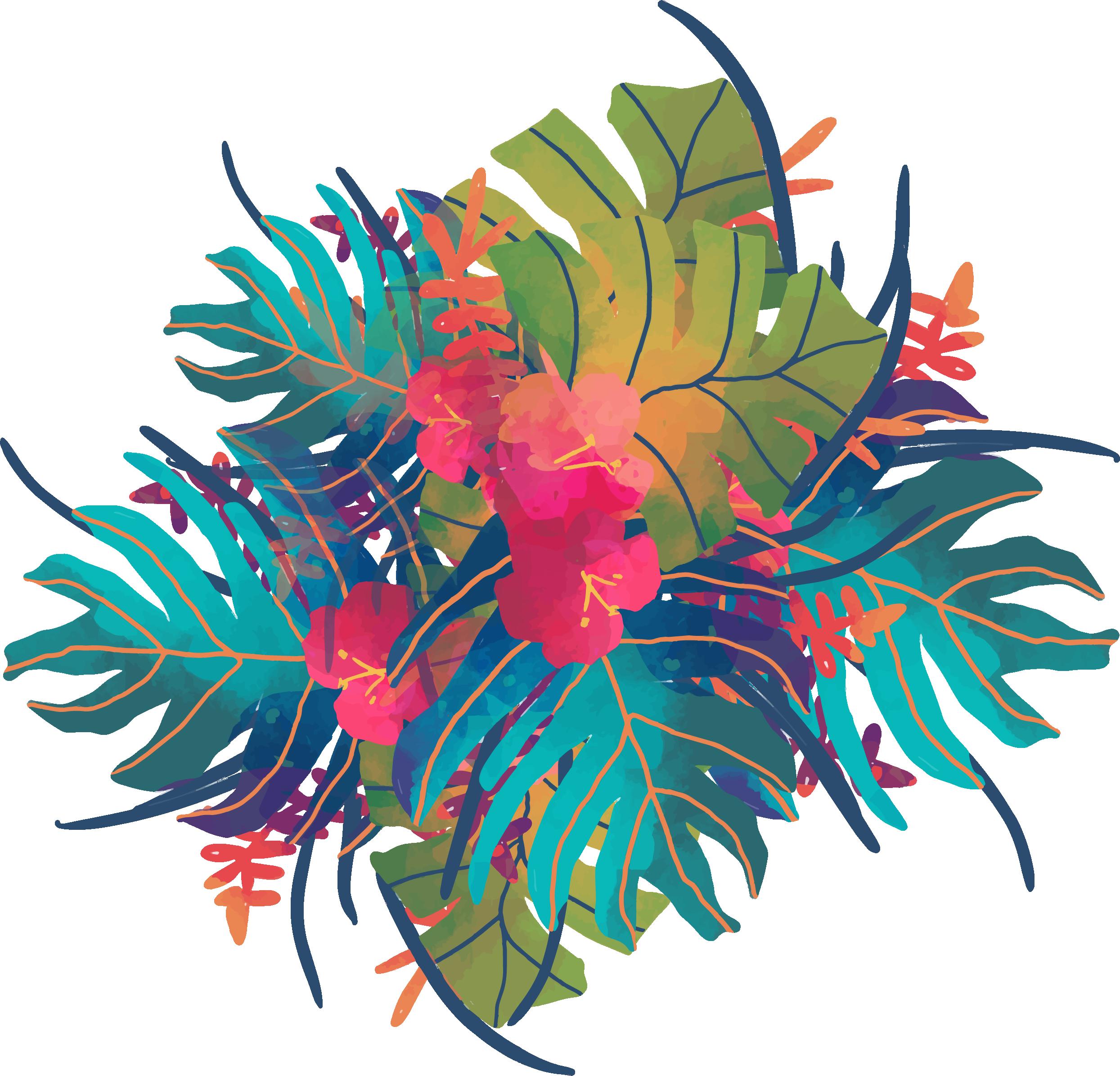 Экзотические цветы картинки вектор, добрых делах звери